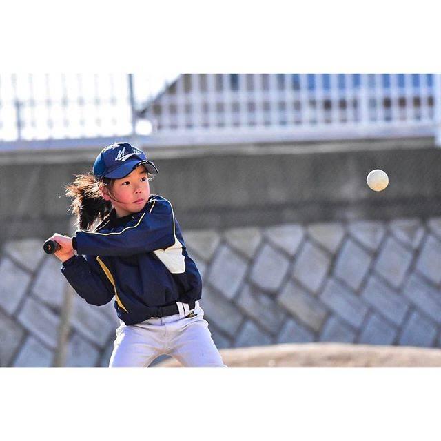 -buchiko-さんはInstagramを利用しています:「ボールが止まって見える程の動体視力欲しい。#少年野球 #野球#野球女子#小2」 (27334)