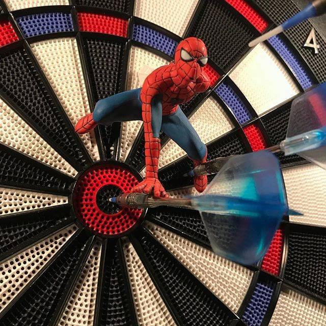 Hiroki NakamaさんはInstagramを利用しています:「#ダーツ #ダーツライブ #ダーツライブ200s #darts #dartslive #dartslive200s #スパイダーマン #spiderman #マーベル #marvel #フィルテイラー #フィルテイラーモデル #philtaylor」 (33684)