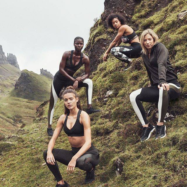 "H&M on Instagram: ""Introducing our conscious sportswear collection: In It For The Long Run. On-trend sportswear made in a more sustainable manner — get the…"" (34764)"