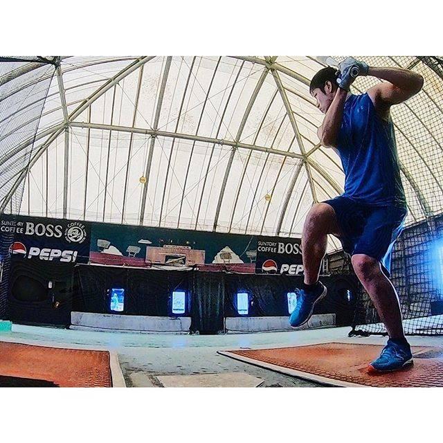 "Taiga-Horiuchi on Instagram: ""夜勤明けはバッセンや‼︎⚾️なんなら眠気吹っ飛んだぜ‼︎👀 #野球 #軟式野球 #草野球 #練習 #夜勤明け #仕事終わり #バッティングセンター #バッセン #baseball #gopro #ゴープロ"" (46009)"