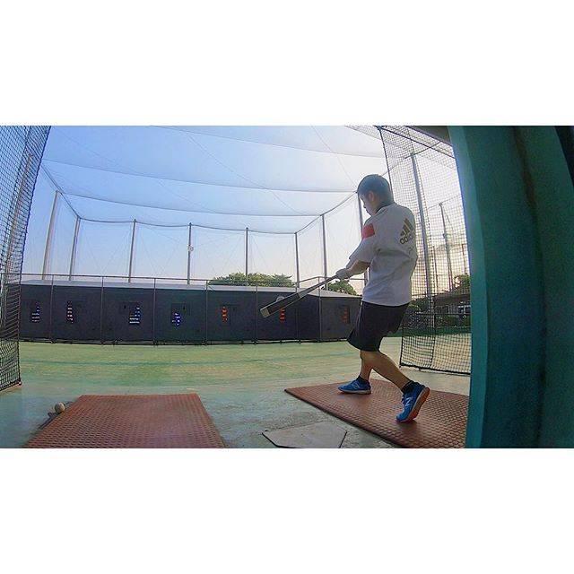 "Taiga-Horiuchi on Instagram: ""バッセン限定のナイバッチな瞬間⚾️ #野球 #草野球 #練習 #仕事終わり #バッセン #バッティングセンター #貸切 #baseball #baseballislife #gopro #⚾️"" (46019)"
