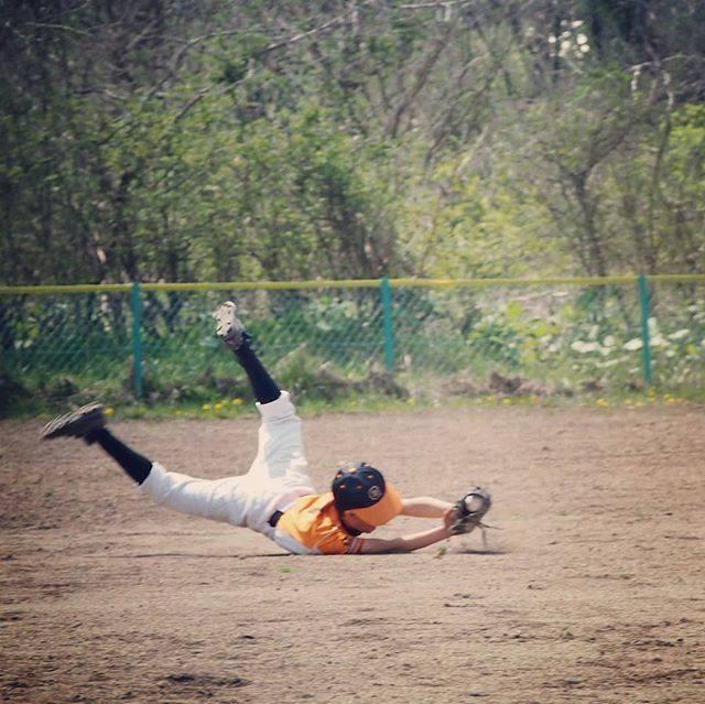 """Ziburon on Instagram: """"#マック杯 #センター #次男 久しぶりの公式戦でみんな緊張していた負けちゃって 悔し涙のメンバーもいたけどがんばりました-#少年野球#スポ少 #ファインプレー暑くて何度か立ちくらみ💦"""" (48893)"""