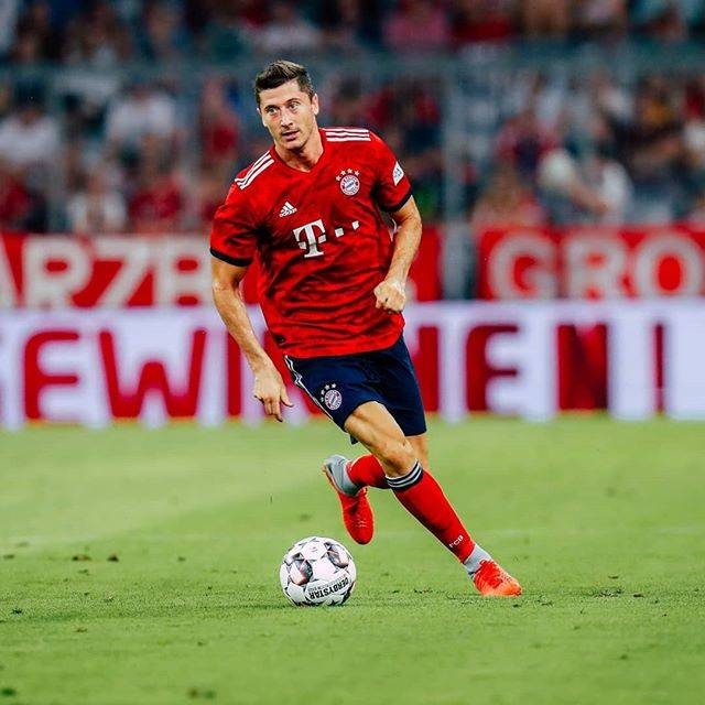 Robert LewandowskiさんはInstagramを利用しています:「It's good to be back. 💪」 (50684)