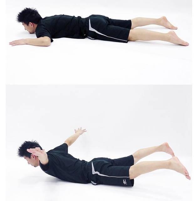 あみゃーさんはInstagramを利用しています:「今日の運動🎶バックフルアップという運動しました★胸から股関節くらいまでは床に着けて後は体を上に反りあげた体制を30秒を1セットでしました\(^o^)/反らしすぎるとあまり効果がでないので、反りすぎ注意です(*^ω^*) #shinyabodylab…」 (51445)