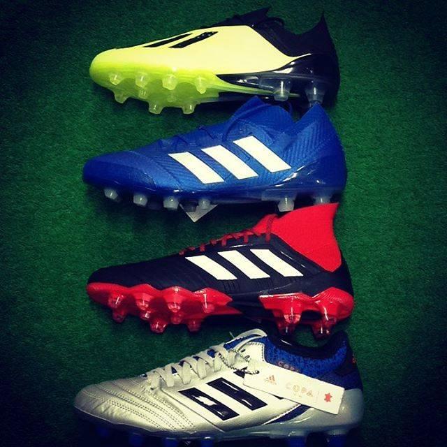 """ジョーヅカスポーツ on Instagram: """"#adidas #adidassoccer #adidasspikes #newspike #soccer #X18.1 #PREDATOR18.1 #NEMEZIZ18.1 #COPA18.1 #アディダス #アディダスサッカー #サッカー #サッカースパイク #新カラー…"""" (53500)"""
