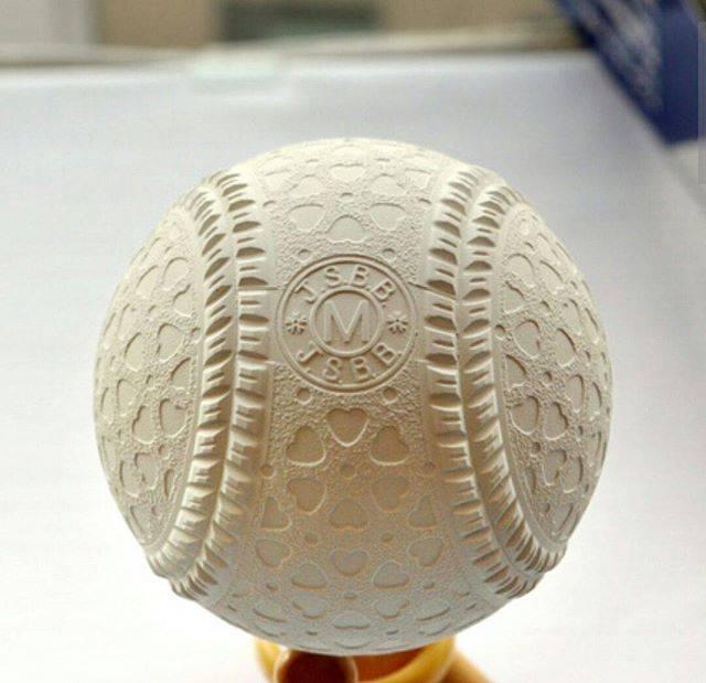 """Toyokazu  Suzuki on Instagram: """"来年軟式球変わるらしい一個前のデザインに似てるくぼみがハート型って#軟式球 #変化球どんな変化になるんだろう #ビヨンド対応するんかね? #来年軟式野球荒れるぞ"""" (57959)"""