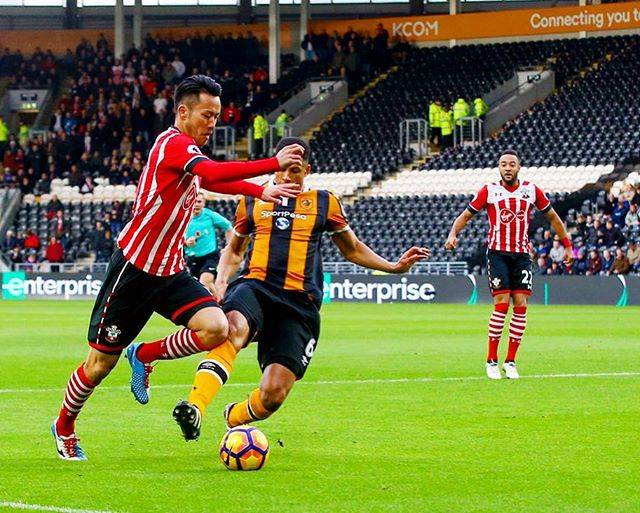 "Maya Yoshida on Instagram: ""Disappointed result. Thank you for great support again.久しぶりのリーグ戦出場、勝ちたかった…。#saints"" (59620)"