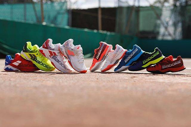 """Babolat on Instagram: """"Keeping you on your toes 👟 ⠀⠀⠀⠀#PlayToBeWild"""" (64087)"""