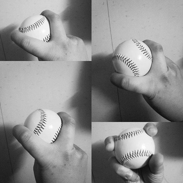 """梵の若大将 on Instagram: """"長らく投げてないなぁ~  今でもフォークボール投げられるかなぁ…(笑)  学生時代や20代半ばまで友人相手によく投げてた頃が懐かしい(*´▽`*) あっ、ちなみにフォークボールの握りは4種類あって変化もそれぞれ違います(^^ )…"""" (65036)"""