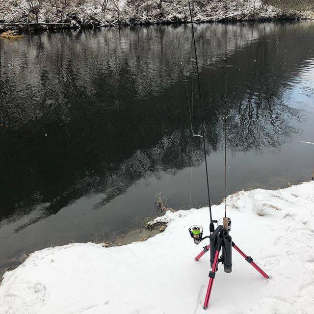 "kim on Instagram: ""友達と朝から釣り!でも雪!#管釣り #雪 #寒い#釣果はそこそこ #大物釣りたい #山道ビビった"" (68844)"