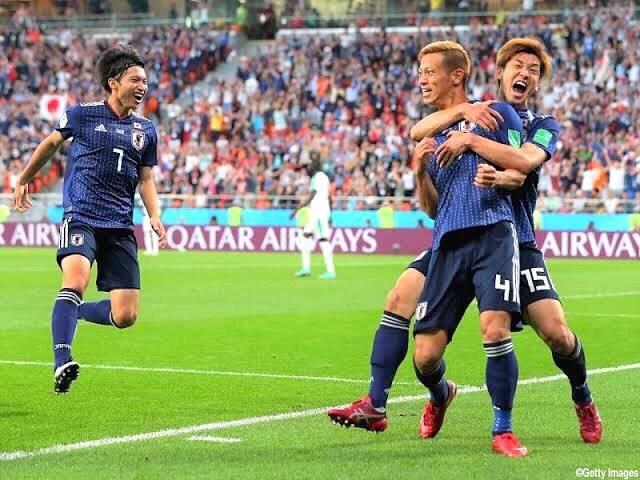 """乾貴士応援公式アカウント on Instagram: """"2018.6.25vs.セネガル🇯🇵🇸🇳 ロシアW杯GL第2節セネガル戦。 78'に本田圭佑がゴールを決め同点に追いついた日本。決勝T進出に大きく前進した。 #Japan #Senegal #Soccer #Football #Worldcup2018 #Rossiya…"""" (74873)"""