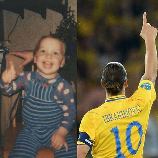 "Zlatan Ibrahimović on Instagram: ""I saw the future"" (75417)"