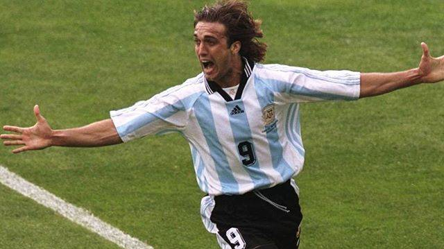 "Football Elite on Instagram: ""Gabriel Batistuta, one of the fiercest strikers of the 90's and the second top scorer for @afaseleccion! How many likes for this living…"" (77836)"