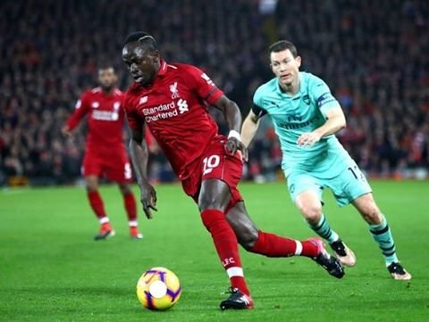 "Sadio Mané fanpage🔥 on Instagram: ""It's Matchday v Arsenal!! Today it's the Carabao Cup, so I doubt there will be a start for Mané! Correct score predictions win a shoutout!!…"" (88612)"
