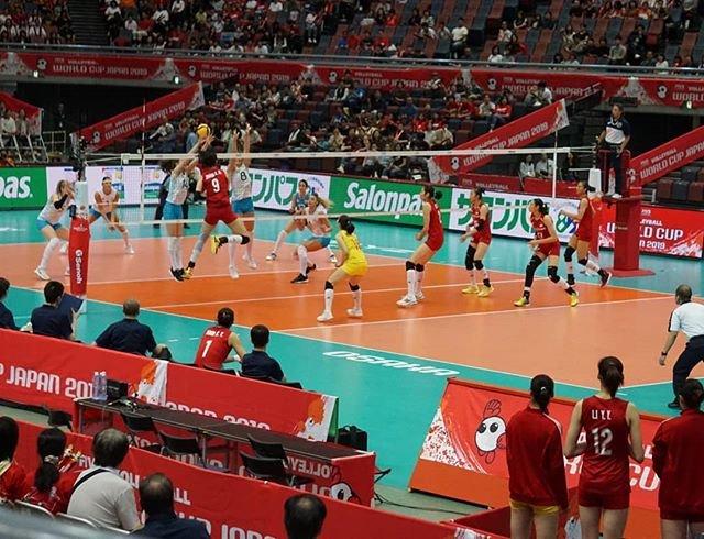 "Yasunori Kanatani on Instagram: ""9/29(日) ワールドカップバレー2019 中国 3(25-17 25-14 25-12)0 アルゼンチン  #ワールドカップバレー2019 #ワールドカップバレー  #バレーボール #中国 #アルゼンチン #volleyball  #WorldCup2019…"" (89439)"