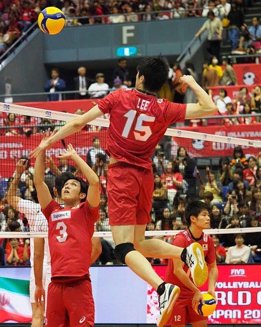 "🦆 on Instagram: ""13th October 2019 Hiroshima Green Arena  #李博 選手 #LeeHaku #fivbvolleyballworldcup  #fivbvolleyballworldcup2019 #fivbworldcup…"" (92344)"