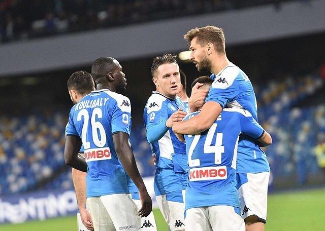 """SSC Napoli on Instagram: """"🇪🇸 @llorente_fer ⚽️🏟 #NapoliBologna 1-0 (HT)💙 #ForzaNapoliSempre"""" (93954)"""