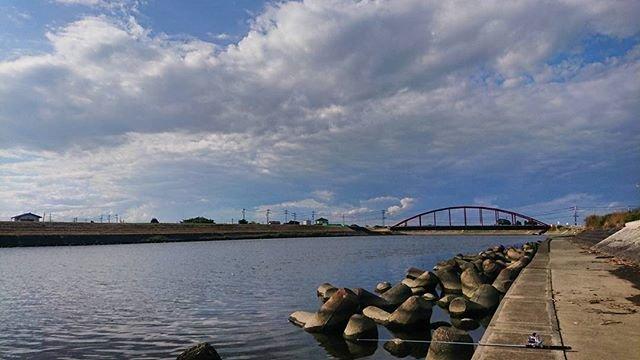 "hirochan on Instagram: ""#茨城県 #涸沼川 #涸沼 #大貫橋 #釣り #全然釣れない #残念 #でも楽しかった"" (95998)"