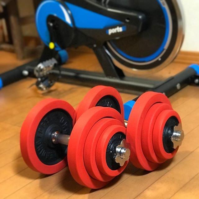 "Kazunobu Maru on Instagram: ""まずは形からという事で、お次はダンベル購入😁標準+7kg位を目標に頑張ろう💪先は長い…#ダンベル #減量 #トレーニング #まずは形から #標準体重 #目標 #頑張ろう #先は長い"" (96064)"