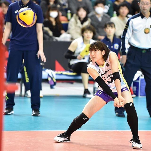 "@38_nao on Instagram: ""2019.12.14#堀井有蘭 選手#日立リヴァーレ#Vリーグ"" (97098)"