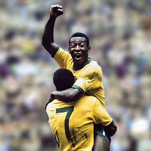 "hero & hiro on Instagram: ""#soccer #football #brazil #pele #サッカー #ブラジル代表 #1958 #1962 #1966 #1970 #10番 #ペレ"" (100173)"