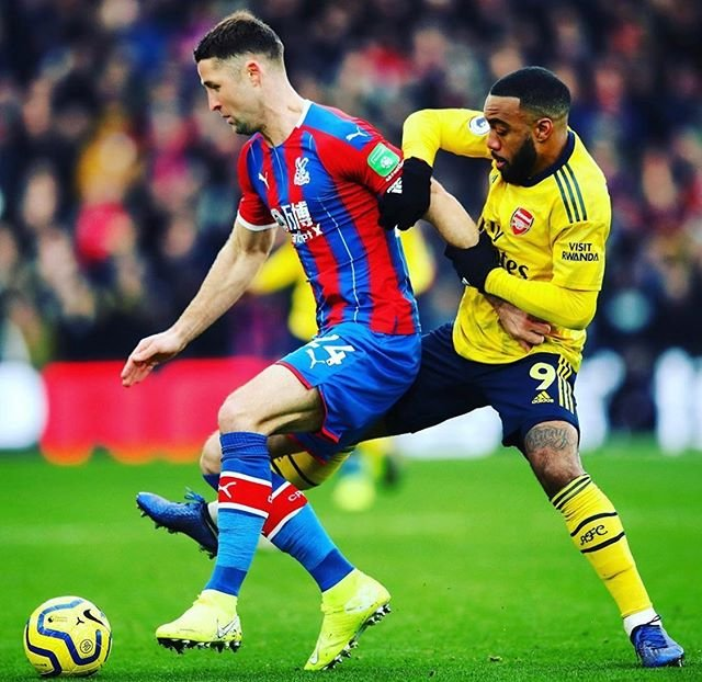 "⚽️Football Insider⚽️ on Instagram: ""Aubameyang is sent off as Arsenal draw Crystal Palace 1-1 in a frustrating match #premierleague #cpfc #afc #redcard"" (101608)"