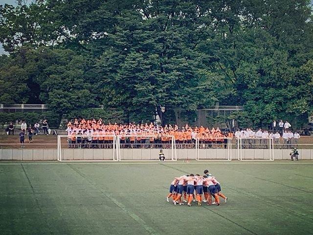 "akihito. on Instagram: ""応援#高校サッカー #國學院久我山 #久我山サッカー #応援 #円陣 #勝ちました"" (102755)"