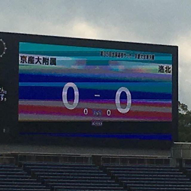 """Maki Nakajima on Instagram: """"本日はこれっ前半0-0#京産大附属高校 #サッカー #全国高校サッカー京都予選 #準決勝 #西京極 #応援"""" (108366)"""