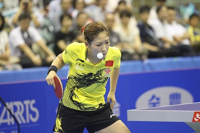 "刘诗雯 LIU Shiwen Fanpage on Instagram: ""2013 女子世界杯Cr: ittf flickr-#liushiwen #liu_shiwen #刘诗雯 #劉詩雯 #枣妹 #tabletennisplayer"" (108491)"