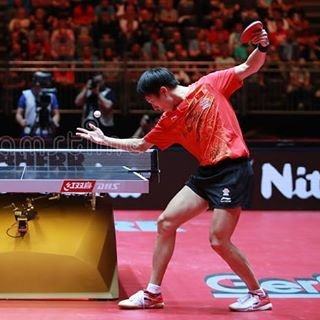"Table Tennis Advisory on Instagram: ""Lin Gaoyuan and his unique serve. What would you call it? This is so stylish... I would call it the Dragon🐉 serve... However, dragon refers…"" (110112)"