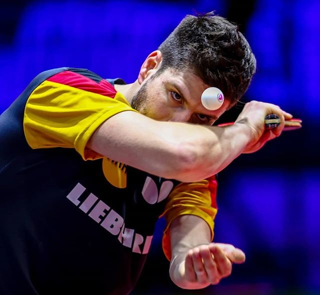 "Abelardo Mendes Jr on Instagram: ""Dimitrij Ovtcharov (@dimaovtcharov), durante o Mundial de Tênis de Mesa 2019, em Budapeste, na Hungria.  #ITTFWorlds2019 #tenisdemesa🏓…"" (110144)"