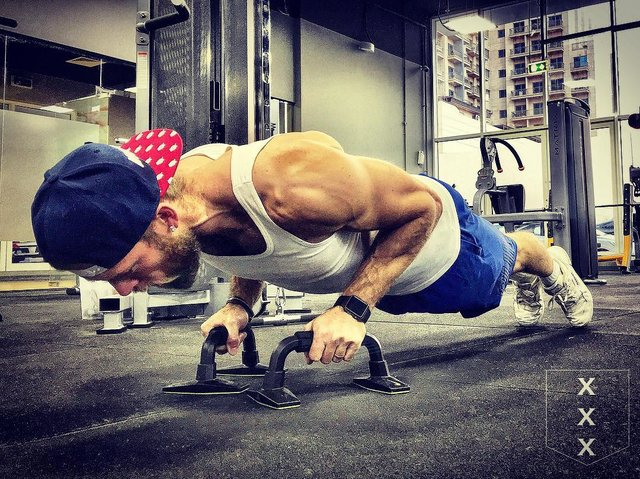 """Vonk Athletics on Instagram: """"I like narrow/diamond push-ups but I don't like the pressure it gives me on my wrists so I like to use these push-up grips.  If you don't…"""" (115390)"""