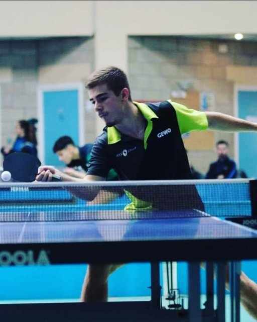 "PING PROGRESS on Instagram: ""Denis Dorcescu, n°222 français, membre de @pingprogress  #tennisdetable #pingpong #pingprogress #performance #ilovepingpong #tabletennis…"" (115838)"