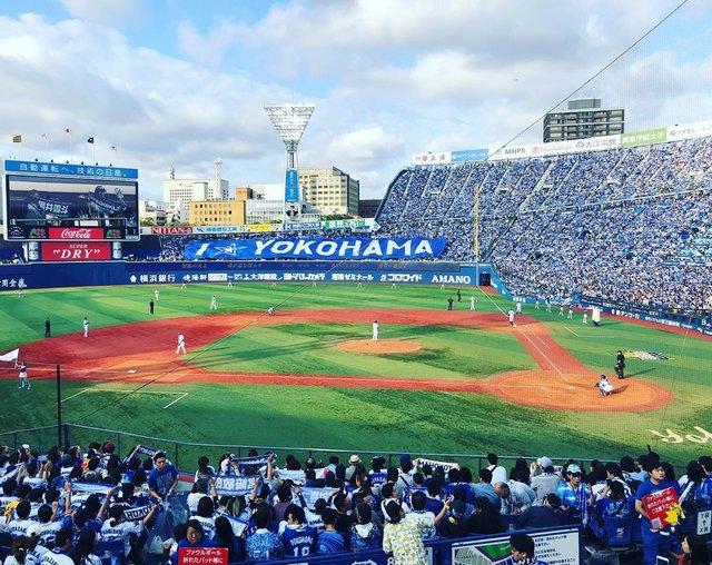 """たく on Instagram: """"#baystars #ベイスターズ #横浜スタジアム#デーゲーム #グラウンド"""" (116891)"""