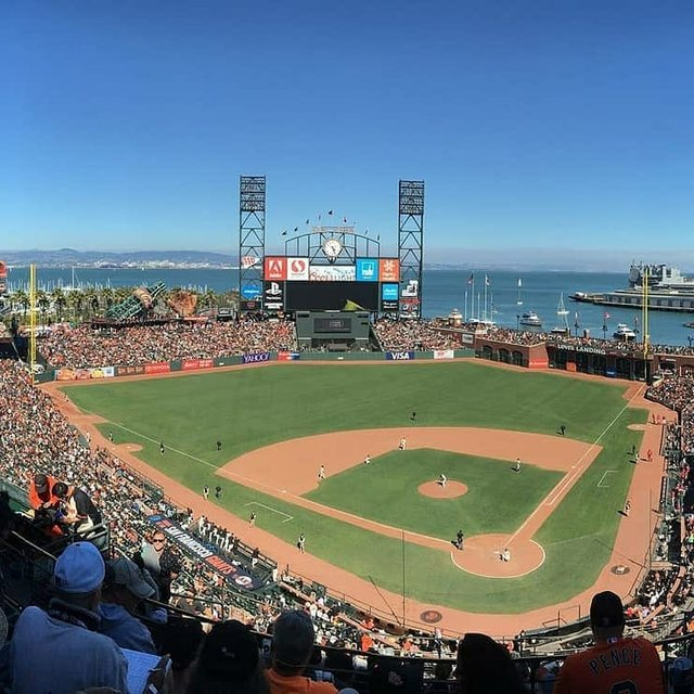 """🏟 Stadiums Official on Instagram: """"🏟 Whenever the 2020 season does finally start, the San Francisco Giants will celebrate their 20th anniversary at Oracle Park. Opened in…"""" (116898)"""