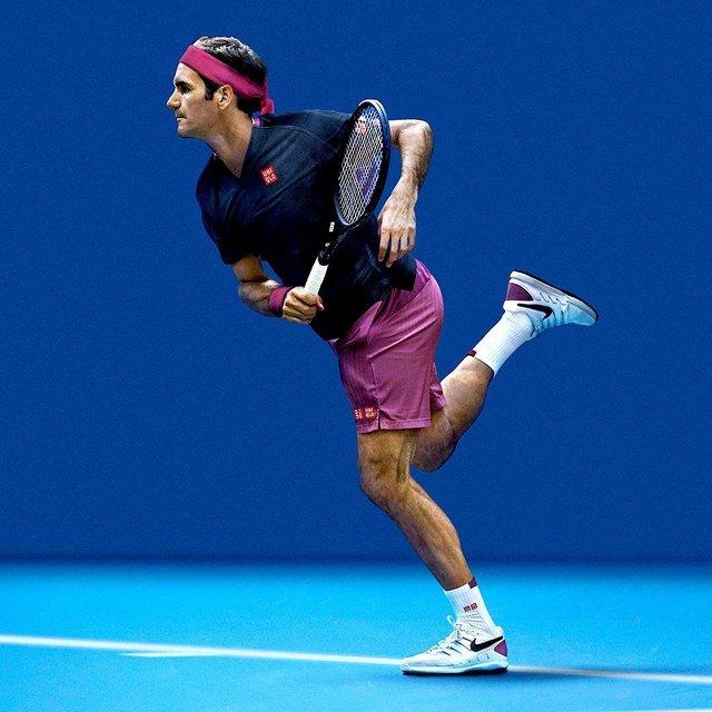 """LuvRogerForever on Instagram: """"Federer's new wear at Australian Open 2020! Go Roger!! 🔥 ・  #roger #federer #rogerfederer #goat #greatestofalltime #alltimefavorite #love…"""" (117169)"""