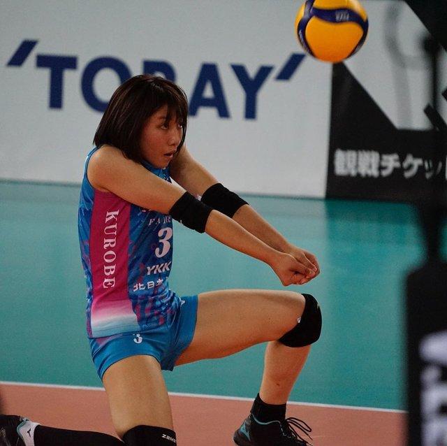 "Yutaka Yamane's Instagram profile post: ""2019-11-10住吉スポーツセンター#KUROBEアクアフェアリーズ#間橋香織 選手"" (119829)"