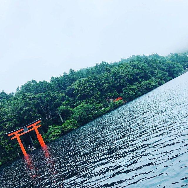 """Aki's Instagram profile post: """"13日に芦ノ湖へレイクトローリング岸際でバスもやったけどちっこいニジマスしか釣れず、、、 #芦ノ湖  #芦ノ湖バス釣り  #バス釣り #レイクトローリング"""" (121386)"""