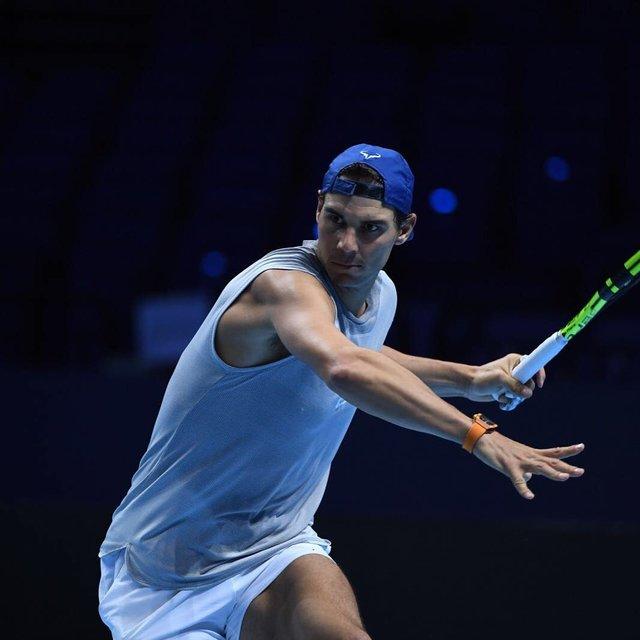"Rafa Nadal on Instagram: ""#practice #nicepic #thanks #atpworldtourfinals #london"" (125783)"