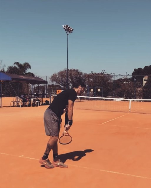 "Felipe Desiderati on Instagram: ""Point of View!!! @2minutetennis is this right? #tennis #tennislovers #tennisservice #tennisserve"" (126186)"