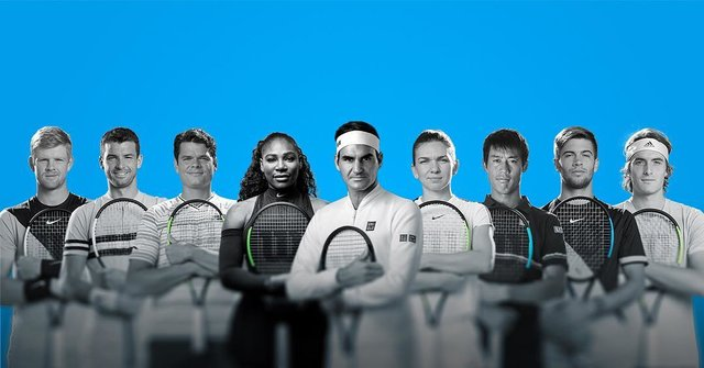 "Wilson Tennis on Instagram: ""A few hours until the 2019 AO starts! Which #TeamWilson player are you cheering for?"" (129077)"