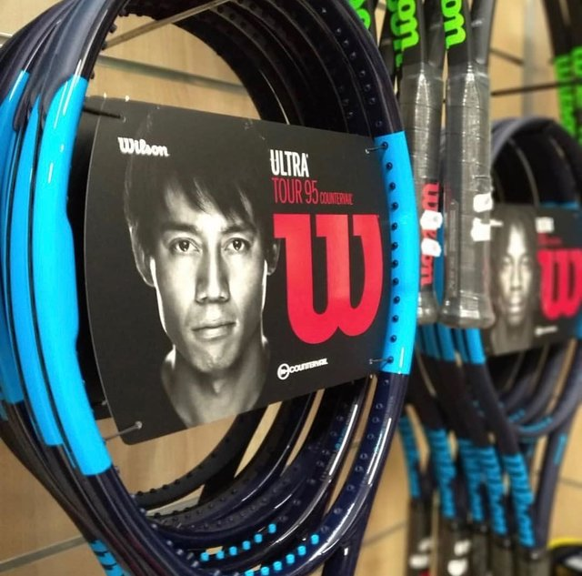 "Wilson Tennis on Instagram: ""The all-new Ultra Tour 95 CV is now available!"" (129080)"