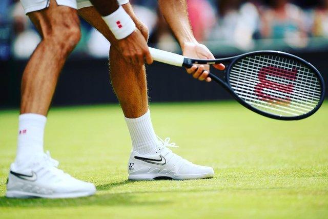 """Wilson Tennis on Instagram: """"FED  V NADAL #40 STARTS NOW."""" (129083)"""