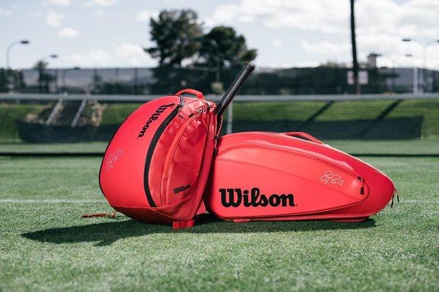 "Wilson Tennis on Instagram: ""GOAT BAGS 🐐"" (130313)"