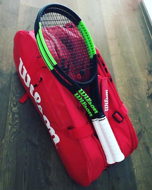 "Alessio Benzi's Instagram photo: ""#wilson #wilsontennis #wilsonblade #tennis #ilovetennis #wilsontennisbag 🎾"" (131050)"