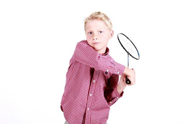 Free photo: Boy, Badminton, Portrait, Play - Free Image on Pixabay - 554643 (10768)