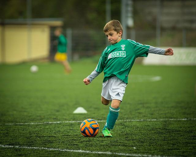 Free photo: Child, Footballer, Kick, Backswing - Free Image on Pixabay - 613199 (12456)