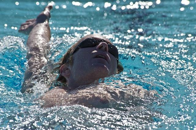 Swimmer Backstroke Pool · Free photo on Pixabay (47450)