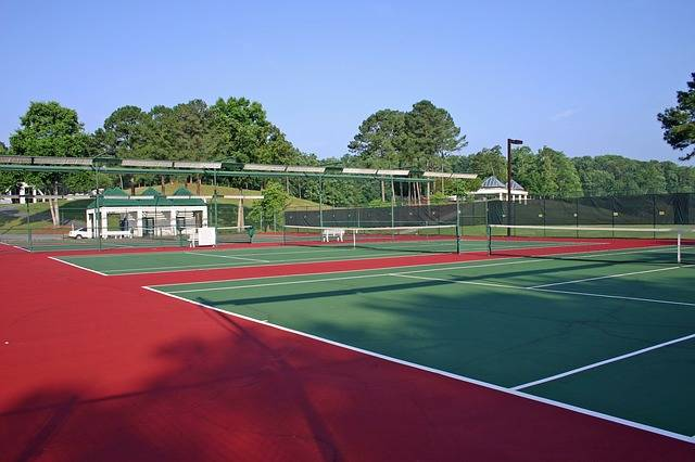 Georgia Tennis Court · Free photo on Pixabay (49456)