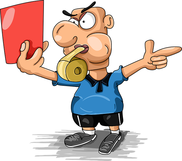 Judge Football Red Card - Free vector graphic on Pixabay (76196)